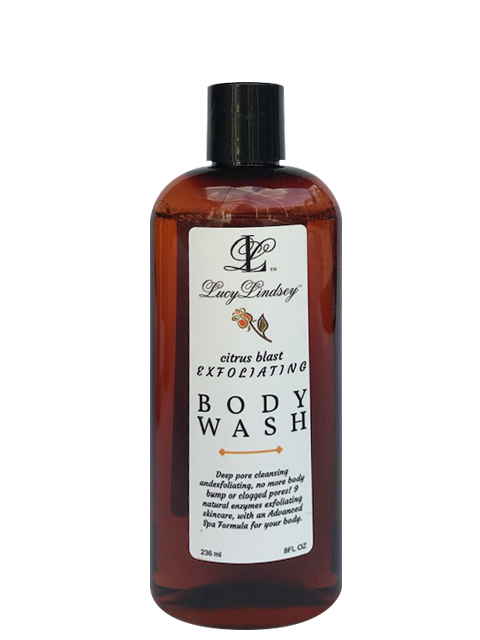 Citrus Blast Exfoliating body wash. Improved formula!