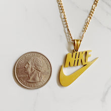 Load image into Gallery viewer, SWOOSH LUXE NECKLACE