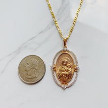 Load image into Gallery viewer, HOLY MARY & JESUS NECKLACE