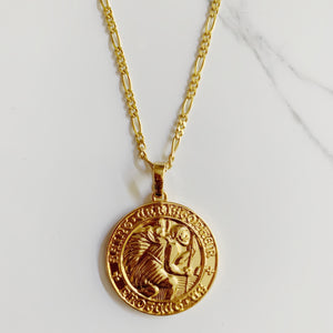 ST. CHRISTOPHER PROTECTION NECKLACE