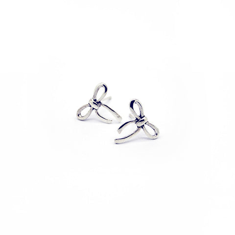 Silver Pretty Stud Earrings > 405