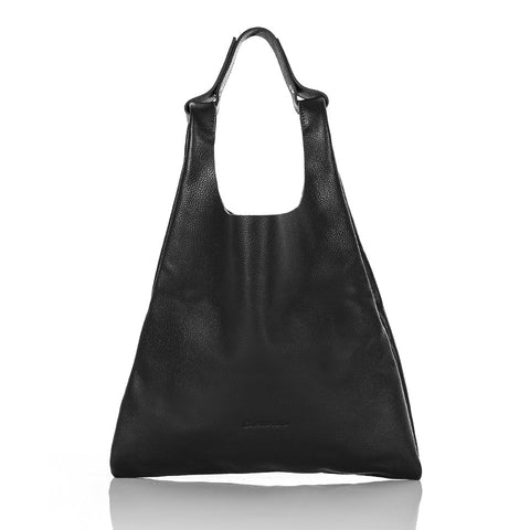 Handy Leather Bag > Rich Black