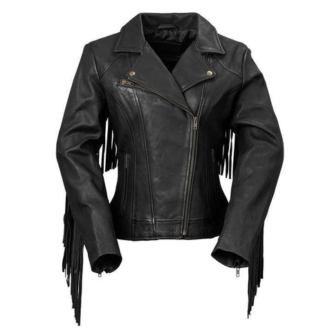 Women's Motorcycle Leather Jacket