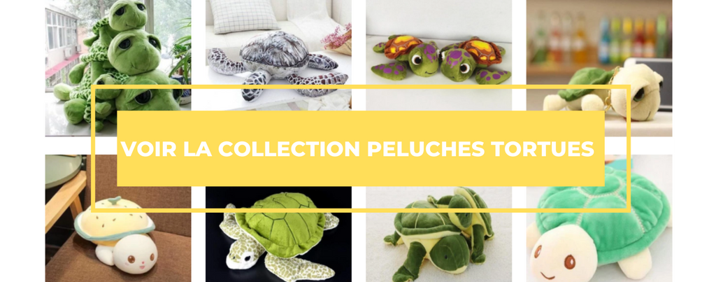 Peluches tortues