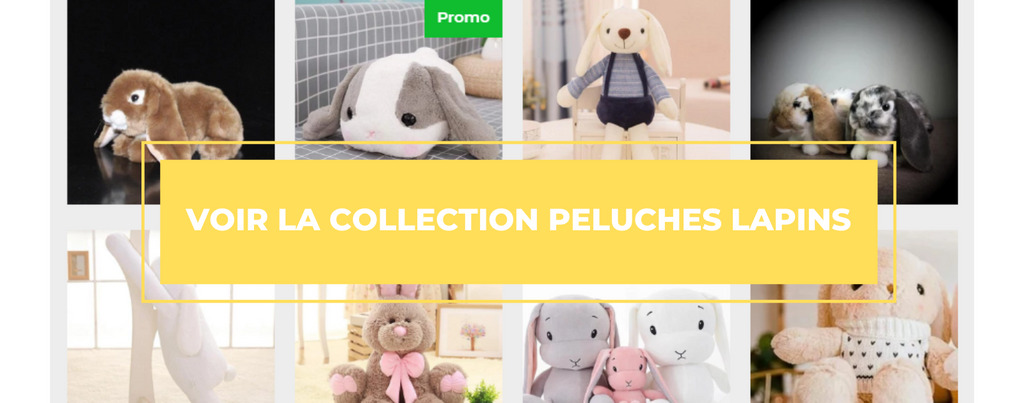 Peluches lapins