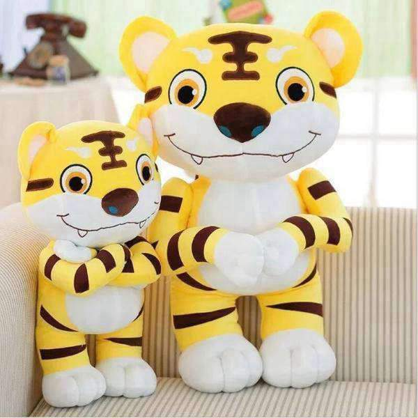 Peluche tigre cartoon géant