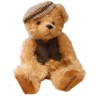 Peluche ours inspecteur Teddy | Peluches Animaux