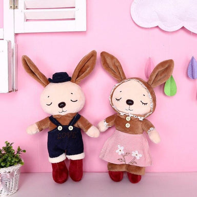 Peluche lapin kawaii habillé | Peluches Animaux
