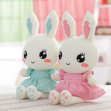 Peluche lapin belle robe | Peluches Animaux