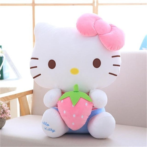 Peluche chat Hello Kitty