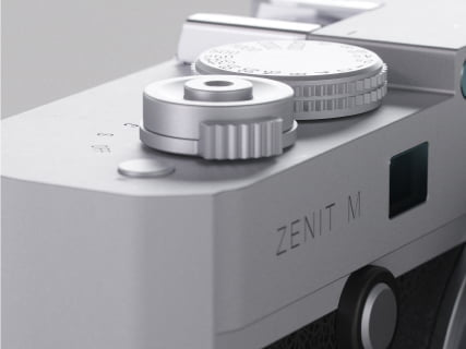 Zenit-M Camera in Silver #213 Demo now available (body only)