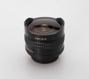 Mint 16mm M42 mount Zenitar fisheye lens