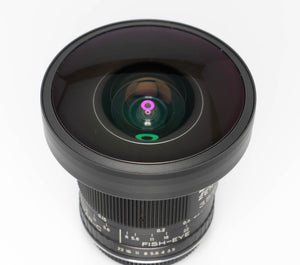 "Used - MC-Zenitar 8mm f/3.5 ""fish-eye"" lens in Canon Mount"