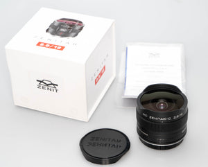 Used  Zenitar 16mm f/2.8 Wide angle Fish-eye Lens for Canon 200039