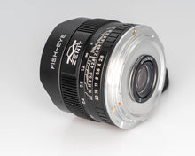 Load image into Gallery viewer, Used  Zenitar 16mm f/2.8 Wide angle Fish-eye Lens for Canon 200039