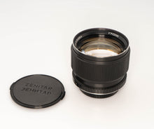 Load image into Gallery viewer, * Used *  Zenitar 85mm f/1.4 Lens in Canon Mount