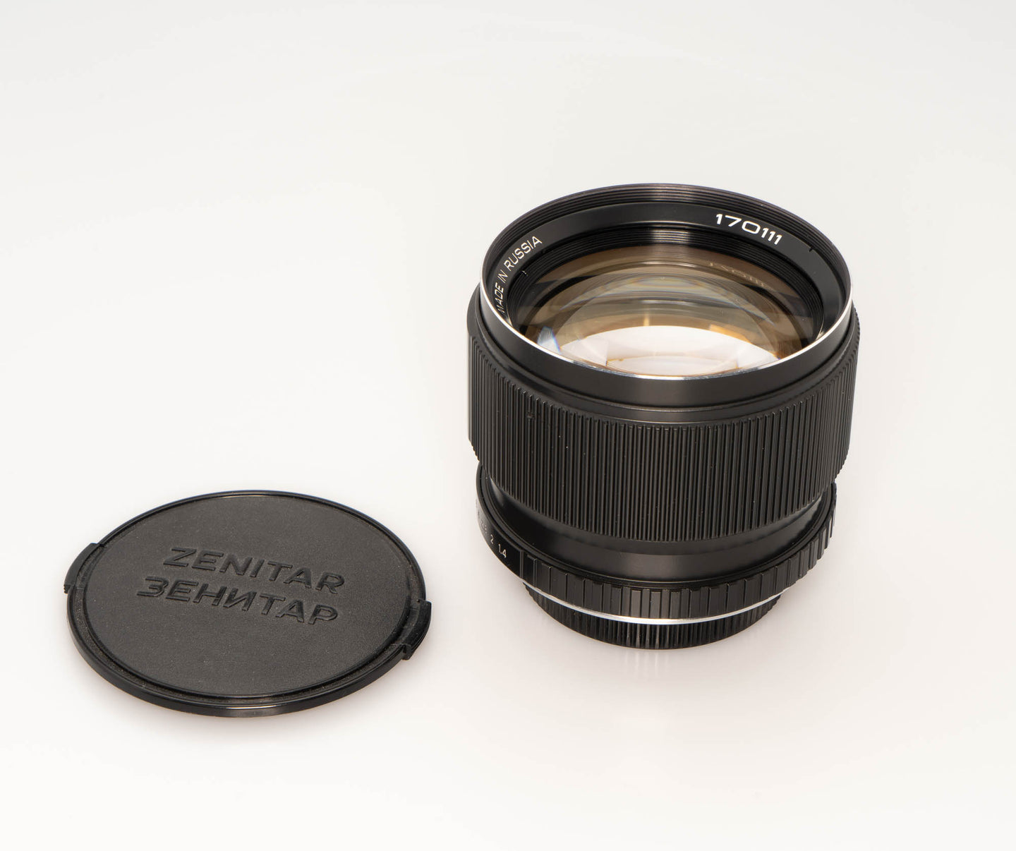 * Used *  Zenitar 85mm f/1.4 Lens in Canon Mount