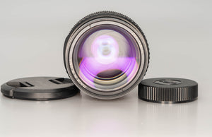 * Used *  MC-Zenitar 50mm f/1.2 S lens - for Nikon APS-C sensors