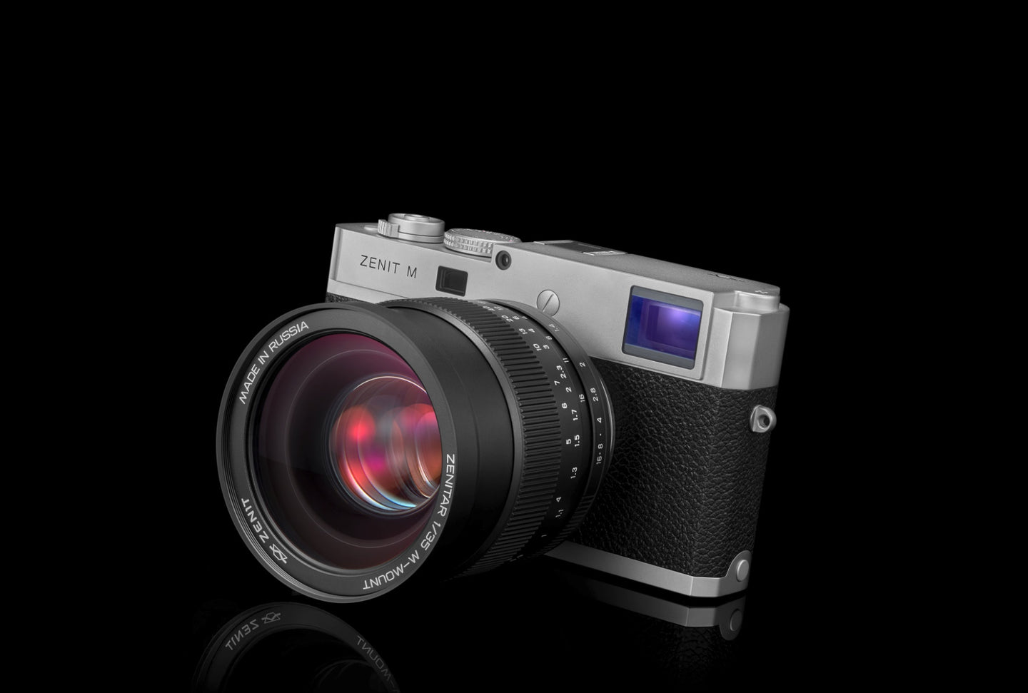 Zenit-M Camera and 35mm f/1.0 Lens Kit - Limited Silver Edition