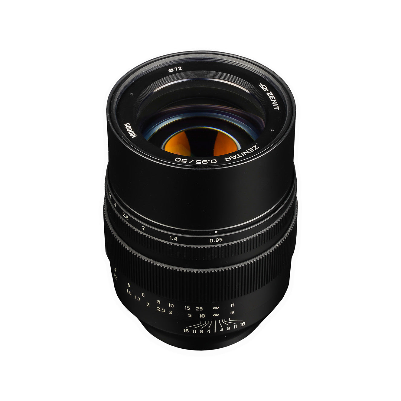 Zenitar 50mm f/0.95 lens for Sony E mount