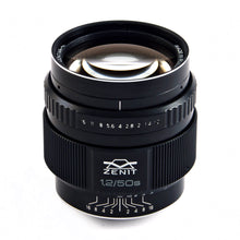 Load image into Gallery viewer, MC-Zenitar 50mm f/1.2 S lens - for Nikon APS-C sensors