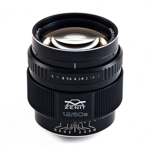 MC-Zenitar 50mm f/1.2 S lens - for Canon APS-C sensors