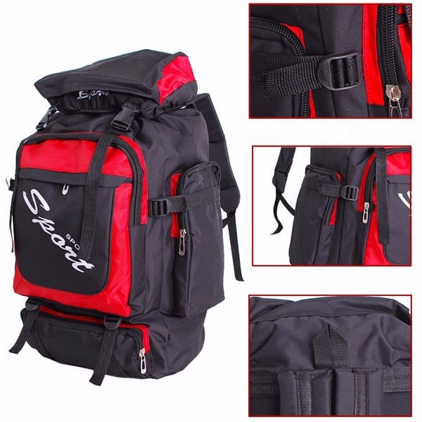 60L Large Anti-tear Outdoor Hiking Backpack