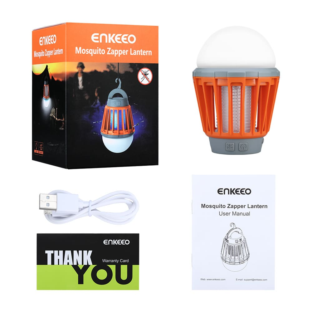 Portable Camping Light Bulb USB Charging LED Mosquito Killer Lamp Waterproof Repellant Pest Insect Mosquito Killer2