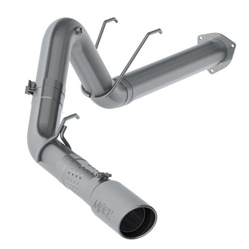 2017-2021 F250/350/450 6.7L MBRP Installer Series Single Exit 4in T409 Stainless Steel Exhaust System