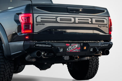2017+ Ford Raptor ADD Honeybadger Rear Bumper with 10