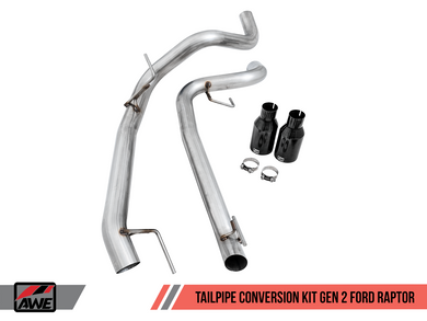 AWE Tailpipe Conversion Kit