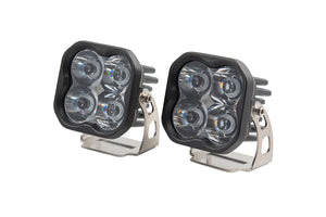"Diode Dynamics Stage Series 3"" Pro WHITE 