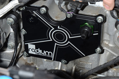 2016-2018 Ford Focus RS, Radium Engineering PCV Baffle Plate