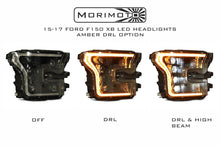 Load image into Gallery viewer, 2015-2017 F150 & Raptor Morimoto XB LED Headlights, Amber Outlines - NEO Garage