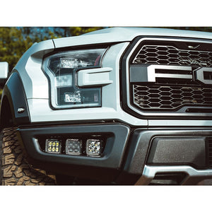 2017+ Ford Raptor Rigid Industries Fog Light Kit