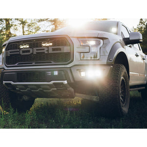 2017+ Ford Raptor Rigid Industries Grille Light Kit - NEO Garage
