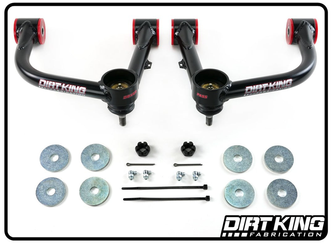 2005-2020 Toyota Tacoma Dirt King Fabrication Ball Joint Upper Control Arms Pair - NEO Garage