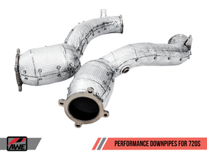 AWE PERFORMANCE EXHAUST DOWNPIPES FOR MCLAREN 720S - NEO Garage