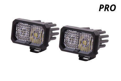 Diode Dynamics Stage Series C2 Led Lights, White PRO