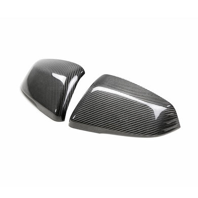 CARBON FIBER MIRROR CAPS FOR 2020 TOYOTA GR SUPRA - NEO Garage