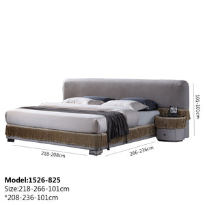 Youngman Upholstered Platform Bed