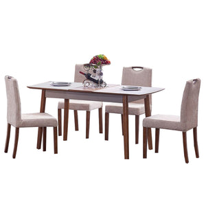 Roy Hidden space and retractable Dining Set