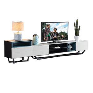 Franklin Glass Surface Tv Cabinet