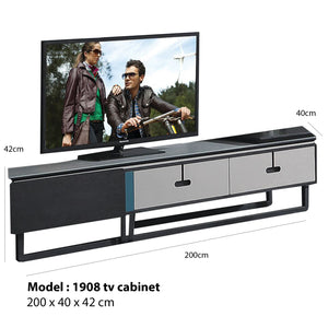 Roland Glass Surface Tv Cabinet