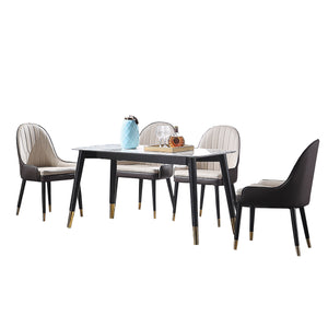 Alan Marble Surface Dining Set