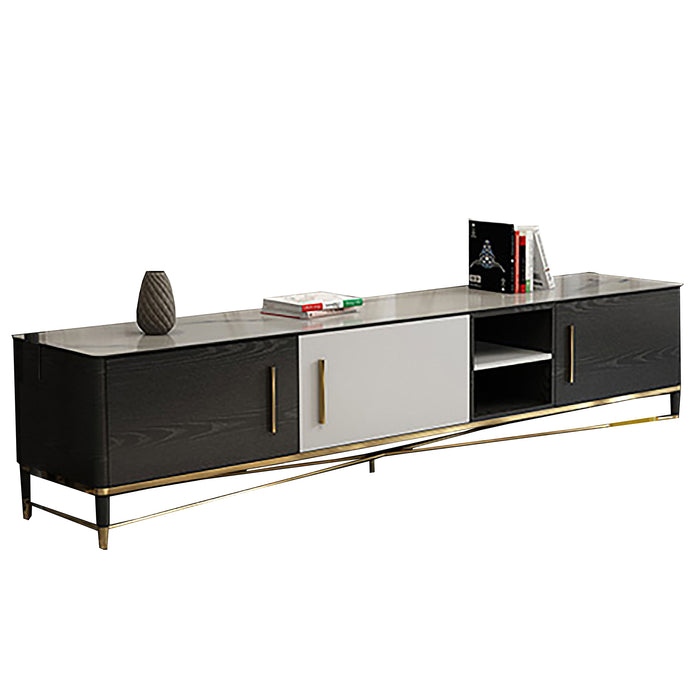 Krasnik Black Matte Tv Cabinet