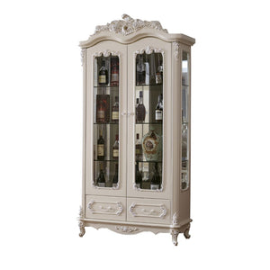2 Doors Wine Cabinet - Best Wish Shopping
