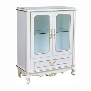2 Doors wine Cabinet for home Decor