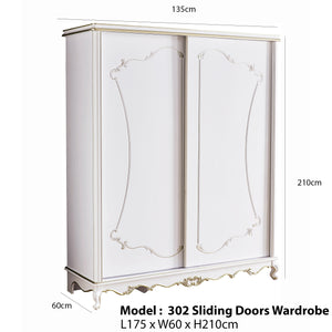 Modern Wardrobe with Sliding Door