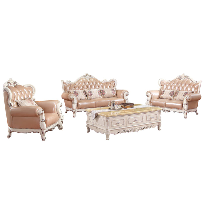 Royal Pinky Sofa Set II